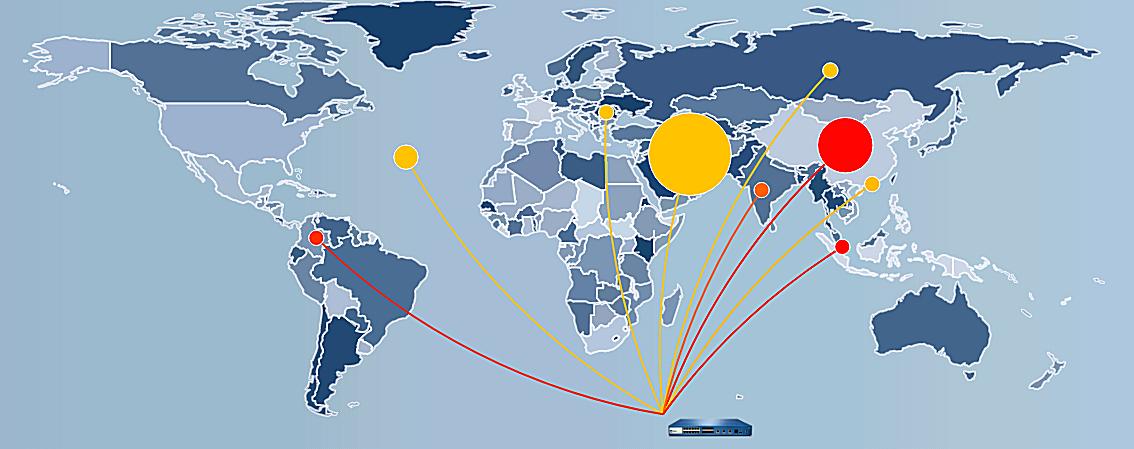 Threat-map