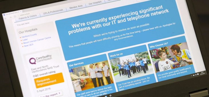 NHS cyberattack: Staff were sent Windows patch that could have prevented ransomware attack
