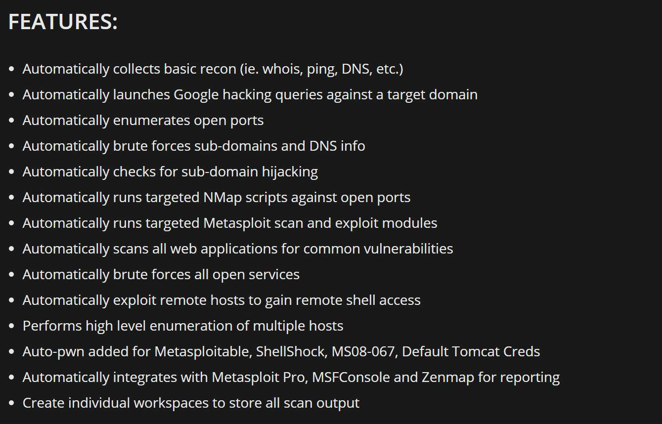 Sn1per v4 3 releases: Automated Pentest Recon Scanner • Penetration