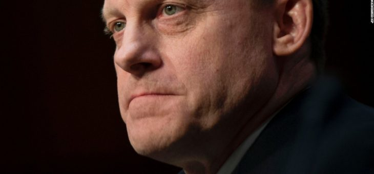 NSA chief says Trump hasn't told him to confront Russian cyber threat