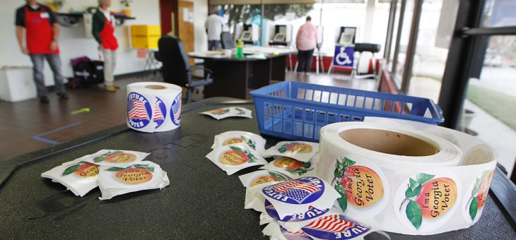 Voting machine errors already roil Texas and Georgia races – POLITICO