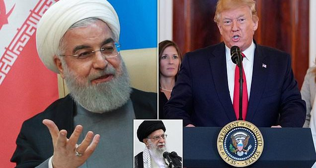 Iran's president accuses Trump of being 'mentally retarded' | Daily Mail Online